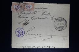 Italy: 2 X Cover Posta Militare With  2 X Segnatasse - 1900-44 Vittorio Emanuele III