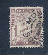 FRANCE Taxe YV. N° 25 TB . Cote 125 Euros . - 1859-1955 Oblitérés