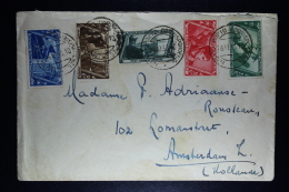 Italy: Cover  Roma To Amsterdam Mixed Stamps Sa 331 - 327  1933 - 1900-44 Vittorio Emanuele III