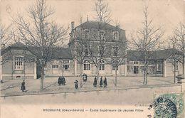 Cpa 79 Bressuire  Ecole Supérieure De Jeunes Filles - Bressuire
