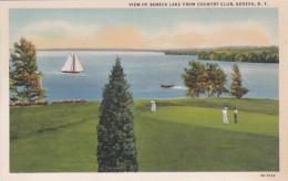 New York Geneva View Of Seneca Lake From Country Club Curteich