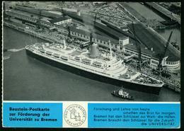 "Ak Germany, Bremerhaven | Columbuskaje, Steamer ""Bremen"" - Bremerhaven"