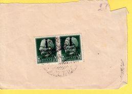 1944-45 Repubblica Sociale - Francobolli Su Frammento - 1944-45 République Sociale