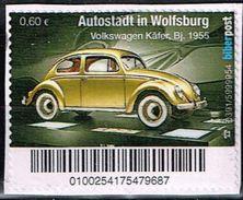 Biberpost, Autostadt Wolfsburg, Volkswagen Käfer Bj. 1955 - BRD