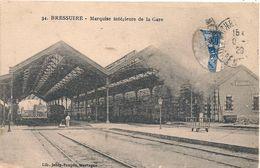 Cpa 79 Bressuire  Marquise Intérieure De La Gare - Bressuire
