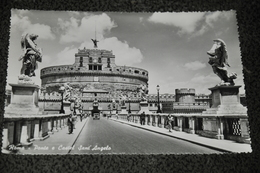 868- Roma, Ponte E Castel Sant'Angelo - Ponts