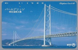 JP.- Japan, Telefoonkaart. Telecarte Japon. NTT. TELEPHONE CARD 50. BRUG - Telefoonkaarten