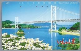 JP.- Japan, Telefoonkaart. Telecarte Japon. - TELEFHONE CARD 105. - Telefoonkaarten
