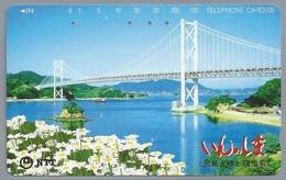 JP.- Japan, Telefoonkaart. Telecarte Japon. - TELEFHONE CARD 105. - Landschappen