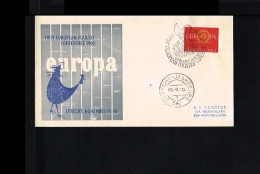 1960 - Netherlands Cover With Mi. 753 - Fauna & Animals - First European Poultry Conference [HK005] - Periode 1949-1980 (Juliana)