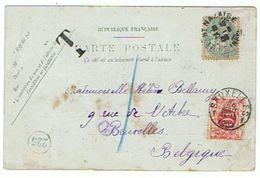 TIMBRE TAXE BELGE  SAINT NAZAIRE UN COURRIER DE L ETAT    ***      A   SAISIR **** - België