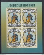 M58. Burundi - MNH - Famous People - Johann Sebastian Bach - 2013 - Célébrités