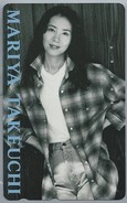 JP.- Japan, Telefoonkaart. Telecarte Japon. - MARIYA TAKEUCHI - - Personen