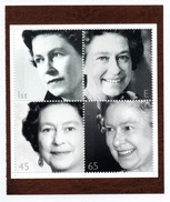 GREAT BRITAIN 2002 Golden Jubilee: Block Of 4 Stamps (ex PSB) UM/MNH - Nuovi