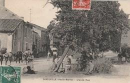 DINTEVILLE - LA GRANDE RUE - BELLE CARTE TRES ANIMEE -  TOP !!! - Autres Communes