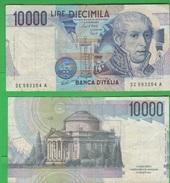 10000 10,000 Lire 1974 A. Volta Repubblica Italiana Alfa BI 870 - [ 2] 1946-… : Républic