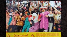 CPSM DUNKERQUE NORD CARNAVAL LA BANDE DE PECHEURS TRAVESTIS ANIMATION 1989 - Dunkerque