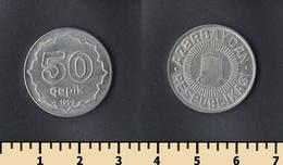 Azerbaijan 50 Qəpik 1992 - Azerbaiyán