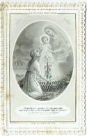 Image Religieuse. Canivet. Letaille à Paris. La Vigilance Chrétienne. 1871. - Imágenes Religiosas