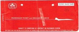 Ticket/Billet Avion. IATA. Brussels/Milan/Brussels. 1983. - Europe