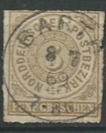 Confederation De L'allemagne Du Nord   - Yvert N°6 Oblitéré   - Ad35329 - North German Conf.