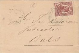 KING CHARLES I, STAMP ON LILIPUT COVER, 1909, ROMANIA - Briefe U. Dokumente