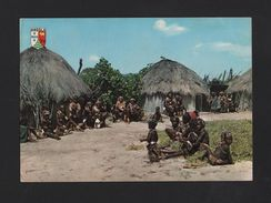 ANGOLA 1960 Years Ethnic Native Costumes AFRICA AFRIKA AFRIQUE Postcard - Postcards