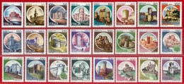 Italia. Italy. 1980 (**) Mi 1701 / 24. Turismo. Castillos. Castles. Castelli - 6. 1946-.. Repubblica