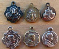 NM-267 Lot De 3 Médailles Anciennes Pius XII - Godsdienst & Esoterisme