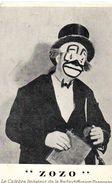 Spectacle : Cirque : Zozo Imitateur - Circo