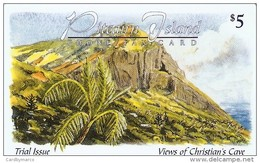 *PITCAIRN ISLAND* - Scheda Usata - Islas Pitcairn