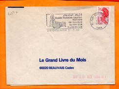 TARN, Albi, Flamme SCOTEM N° 4057a - Marcophilie (Lettres)