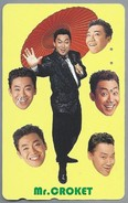 JP.- Japan, Telefoonkaart. Telecarte Japon. - Mr. CROKET -. - Personen