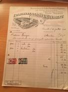 26-7-1934-BRUXELLES-ETABLISSEMENTS L.CLEMENT-MANUFACTURES DE COLS.CHEMISES-PYJAMAS - 1900 – 1949