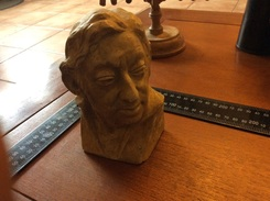 Buste De Serge Gainsbourg - Sculptures