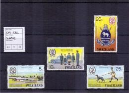 Swaziland - 50 Jahre Polizeischule 1977 (**/MNH) - Swaziland (1968-...)