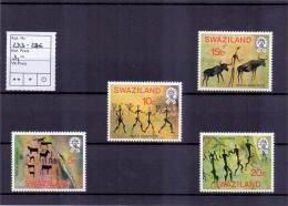 Swaziland - Felsmalerei Aus Den Höhlen Von Highveld 1977 (**/MNH) - Swaziland (1968-...)