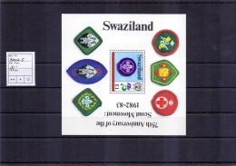 Swaziland - Blockausgabe 1982 (**/MNH) - Swaziland (1968-...)