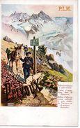 Chemin De Fer : Carte Ancienne Des Editoons J.Barreau : PLM  Pelvoux - Ferrocarril