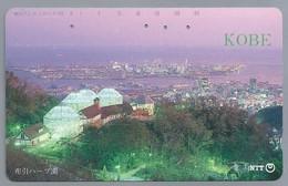 JP.- Japan, Telefoonkaart. Telecarte Japon. NTT. KOBE. - Landschappen