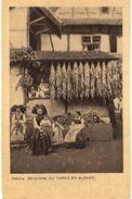 CPA N°14790 - LOT DE 3 CARTES ALSACIENS ET ALSACIENNES - COSTUME ET COIFFE - FOLKLORE - Alsace