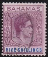 Bahamas      .   SG   .      156        .   O   .   Cancelled   .   /   .   Gebruikt - Bahamas (...-1973)