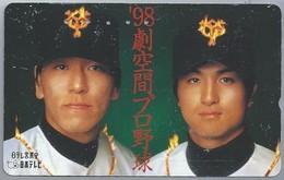 JP.- Japan, Telefoonkaart. Telecarte Japon. - '98 - - Personen