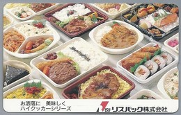 JP.- Japan, Telefoonkaart. Telecarte Japon. - Levensmiddelen