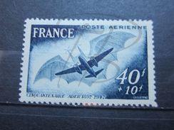 VEND BEAU TIMBRE DE POSTE AERIENNE DE FRANCE N° 23 , PAPIER JAUNATRE , XX !!! - 1927-1959 Nuevos