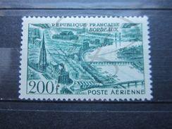 VEND BEAU TIMBRE DE POSTE AERIENNE DE FRANCE N° 25 , X !!! - 1927-1959 Nuevos