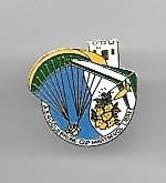 PINS PARACHUTE   A.S. ROQUEBRUNE CAP MARTIN  VOL LIBRE 06 ALPES MARITIMES  / 33NAT - Parachutting