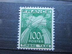 VEND BEAU TIMBRE TAXE DE FRANCE N° 89 , XX !!! - Segnatasse