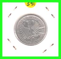 GERMANY  MONEDA DE 2 DM.  AÑO 1967-F - [ 7] 1949-… : RFA - Rep. Fed. Alemana
