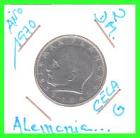 GERMANY  MONEDA DE 2 DM.  AÑO 1970-G - [ 7] 1949-… : RFA - Rep. Fed. Alemana